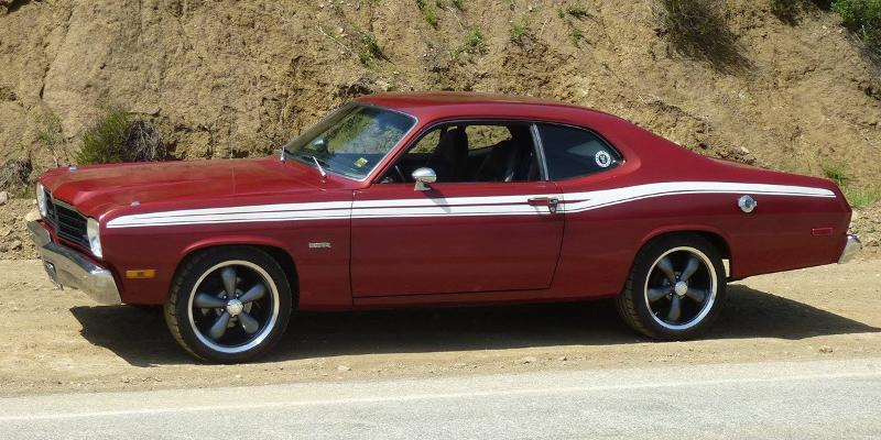 142 Legend 5 on a Plymouth Duster