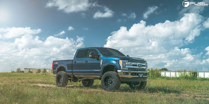 Stroke - D611 on a Ford F-250 Super Duty