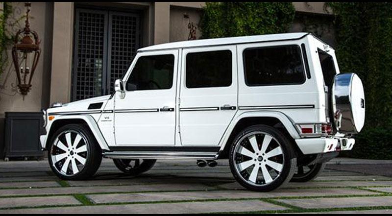 Gallery socal custom wheels for Mercedes benz g class custom