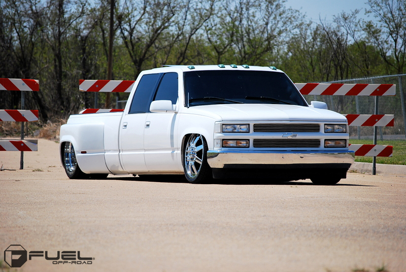 Fuel Dually Wheels Maverick Dually Front D262 Wheels Socal