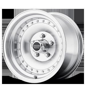 American Racing Custom Wheels AR61 Outlaw 1 5 Machined w/ Clear Coat