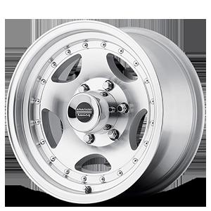 American Racing Custom Wheels AR23 6 Machined w/ Clear Coat