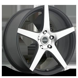 Strada Wheels Calore 5 Black Machined Face