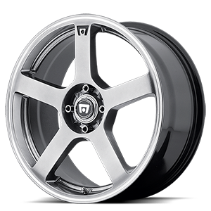 MR116 Dark Silver w/ Machined Flange 4 lug