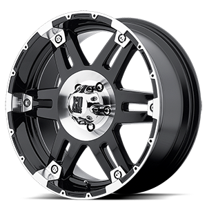 XD797 Spy Gloss Black Machined 5 lug
