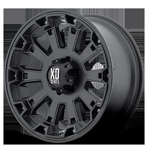 XD800 Misfit Matte Black 6 lug