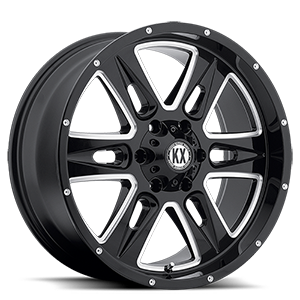 CP78 Gloss Black & Milled 6 lug