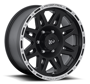 Pro Comp Wheels 05 Series 6 Matte Black Machined