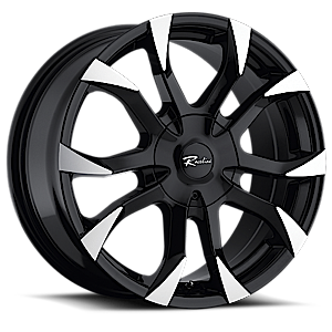 198 Vector Black 5 lug