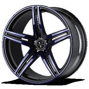 VM04 Black with Blue Face 5 lug