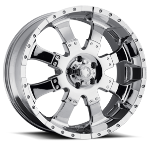223-224 Goliath Chrome 5 lug