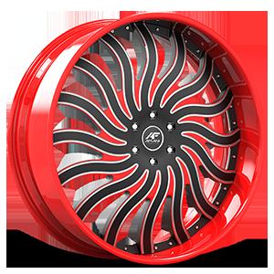 HNIC Black and Red 5 lug
