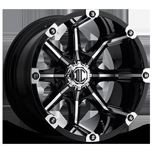 NX-3 Black Machined 5 lug