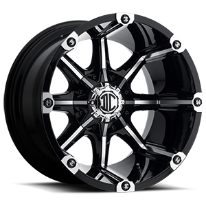 NX-3 Black Machined 8 lug