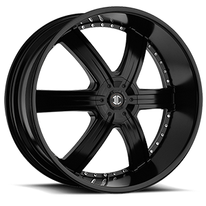 No4 Matte Black 5 lug