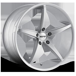 TR70 Silver Milled Spokes 5 lug