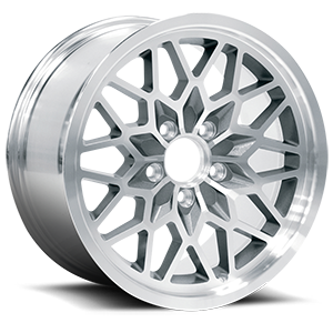 4th Gen Snowflake (Series 616) Silver Machined 5 lug