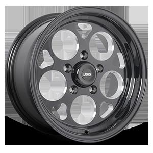 SSR Mag Black Powdercoated 5 lug