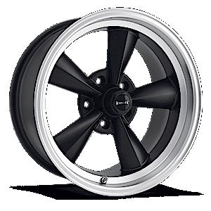 Ridler Wheels 675 5 Matte Black