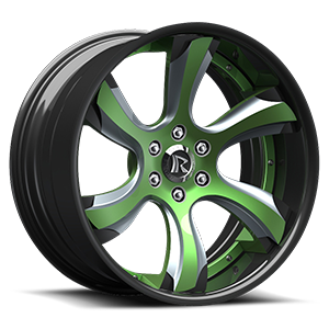 Rucci Forged 6Gs 6 Green