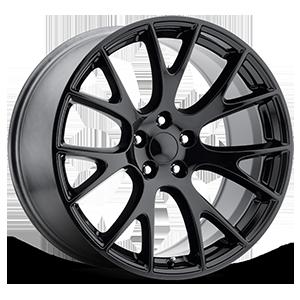 Style 70 Gloss Black 5 lug
