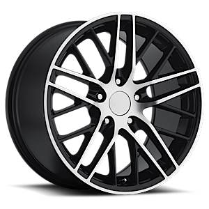 Sport Concepts 862 5 Gloss Black Machined Face