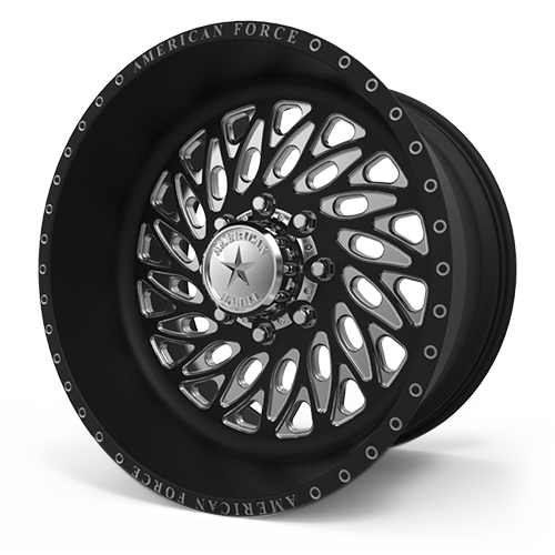 G54 Blaze SF Black Machined 8 lug