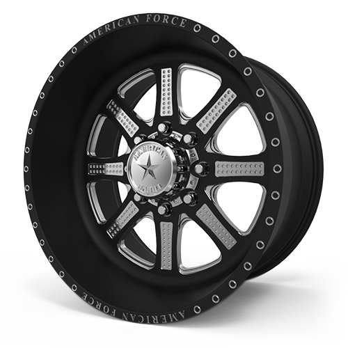 G29 Code SF Black Machined 8 lug