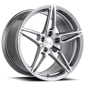 AFF01 Silver with Machined Face 5 lug