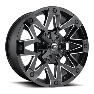 Fuel 1-Piece Wheels Ambush - D555 5 Gloss Black & Milled