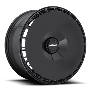 AeroDisc Gloss Black 5 lug