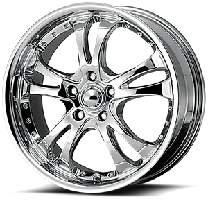 AR683 Casino Chrome 5 lug