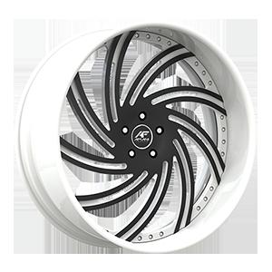 Lusso White/Black 5 lug