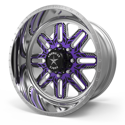 American Force Faceplate Series G255 Syzr FP 8 Purple