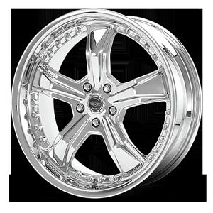 American Racing Custom Wheels AR698 Razor 5 Chrome