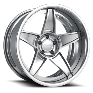 Falcon Mirror Polished 5 lug