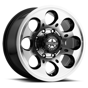 Ranger (S123) Gloss Black with Machined Face 8 lug