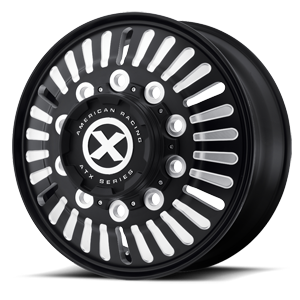 AO403 Roulette Satin Black Milled 10 lug