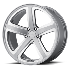 AR922 Hot Lap Satin Gray Milled 5 lug