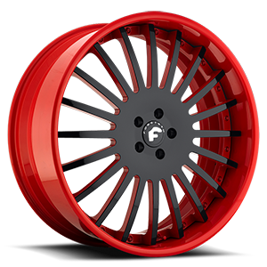 ANDATA Black/Red Center, Red Lip 5 lug