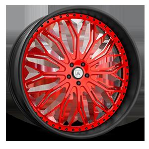 AF866 Red 5 lug