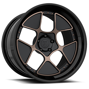 CX860 Black w/ Bronze Inserts 5 lug