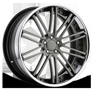 CX856 Gunmetal w/ Chrome Lip 5 lug