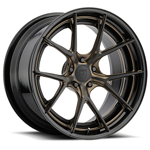 TL101 Gloss Black w/ Bronze Accents 5 lug