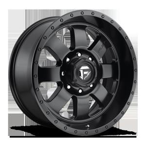 Fuel 1-Piece Wheels Baja - D626 5 Matte Black