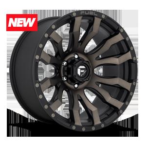 Fuel 1-Piece Wheels Blitz - D674 6 Matte Black/Machined/DDT