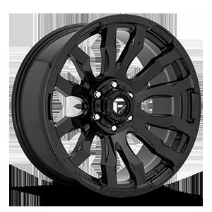 Fuel 1-Piece Wheels Blitz - D675 6 Gloss Black