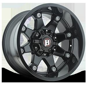 Ballistic Off Road 581 Beast 8 Gloss Black
