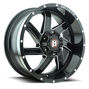 961 Guillotine Gloss Black 6 lug