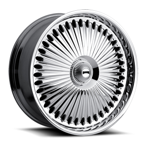 DUB Spinners Bellagio - S777 5 Chrome